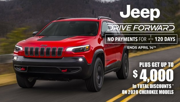 Jeep Cherokee Sales Offer