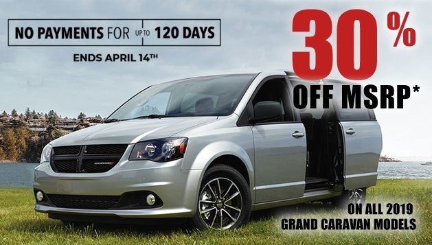 Dodge Grand Caravan Offers