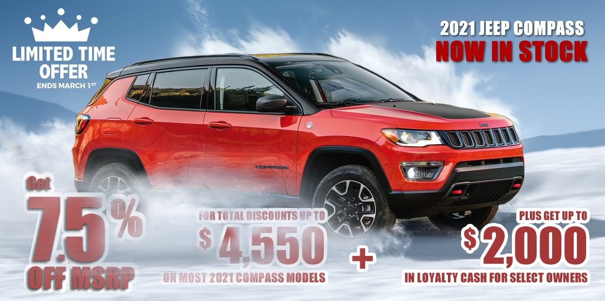 2021 Jeep Compass Offers